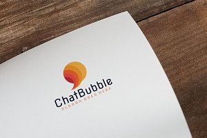 Chat Bubble Logo