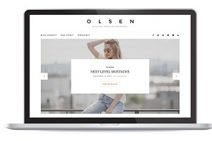 Olsen Blogging Theme for WordPress