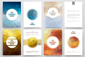 Brochure on FAMILY theme. Poli style