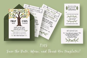 Rustic Tree Wedding Suite
