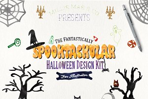 Spooktacular Halloween Design Kit