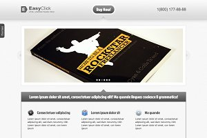 EasyClick HTML Landing Page