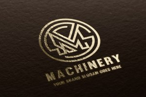 Machinery Letter M Logo
