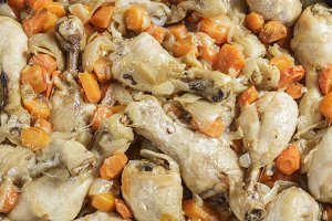 Chicken with carrots