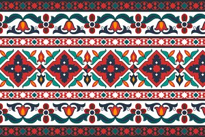 Azerbaijani & Turkish Ornament
