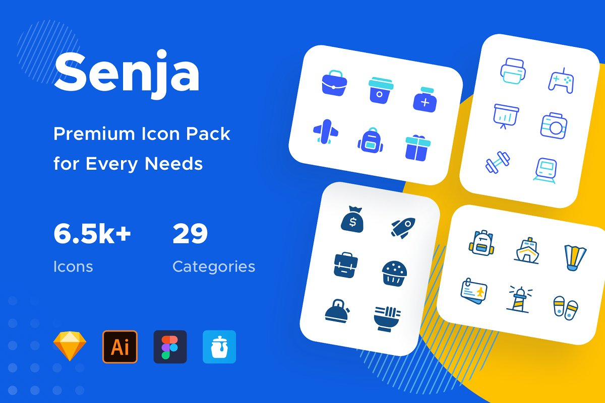Senja : Icons for Every Need