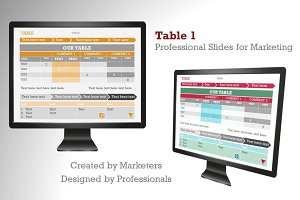 Table 1 PowerPoint Template