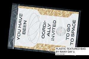 Plastic Transparant Textured Bag