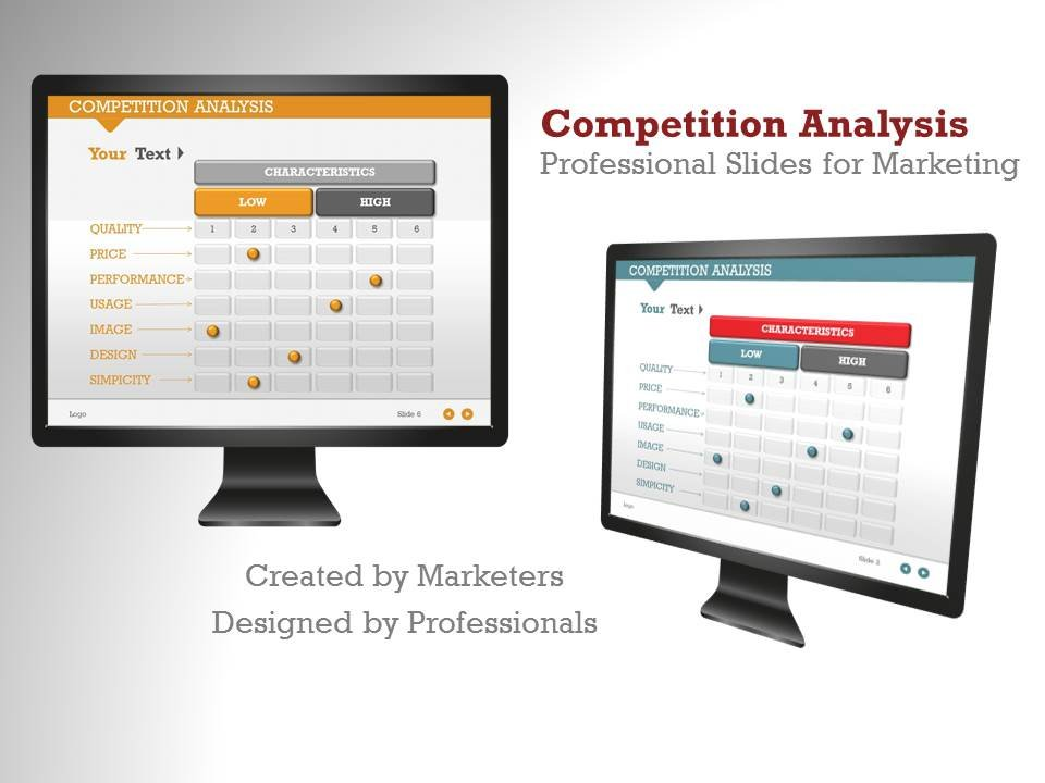 Competition Analysis 1 Powerpoint Presentation Templates