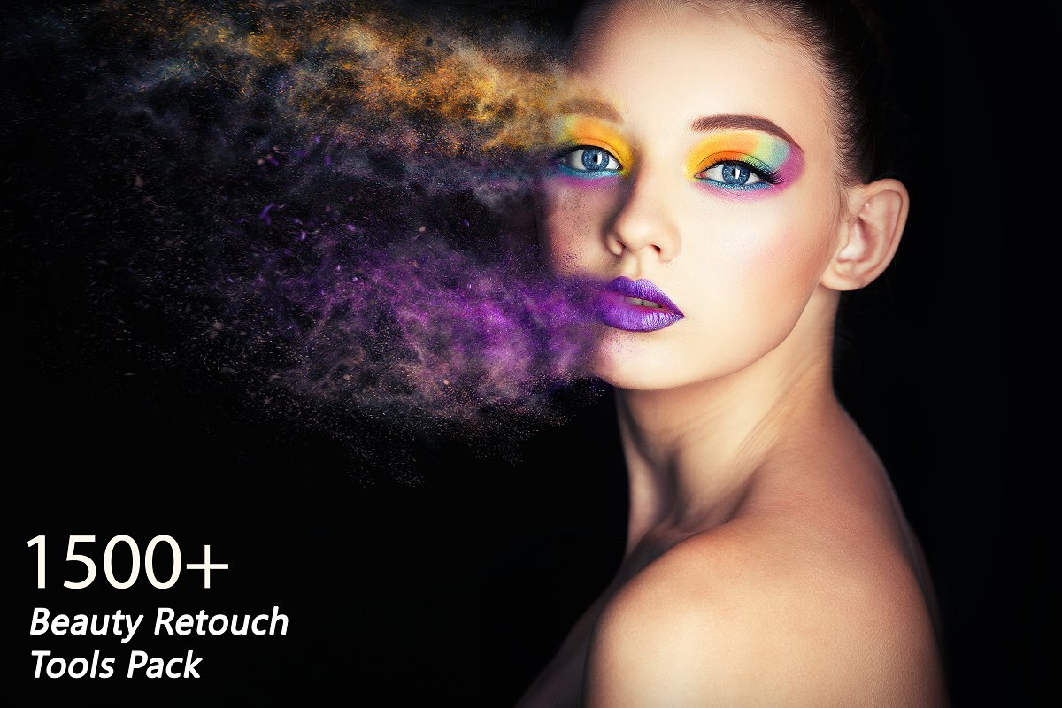 1500+ Beauty Retouch Tools Pack