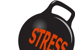 Woman and stress