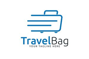 Travel Bag Logo Template
