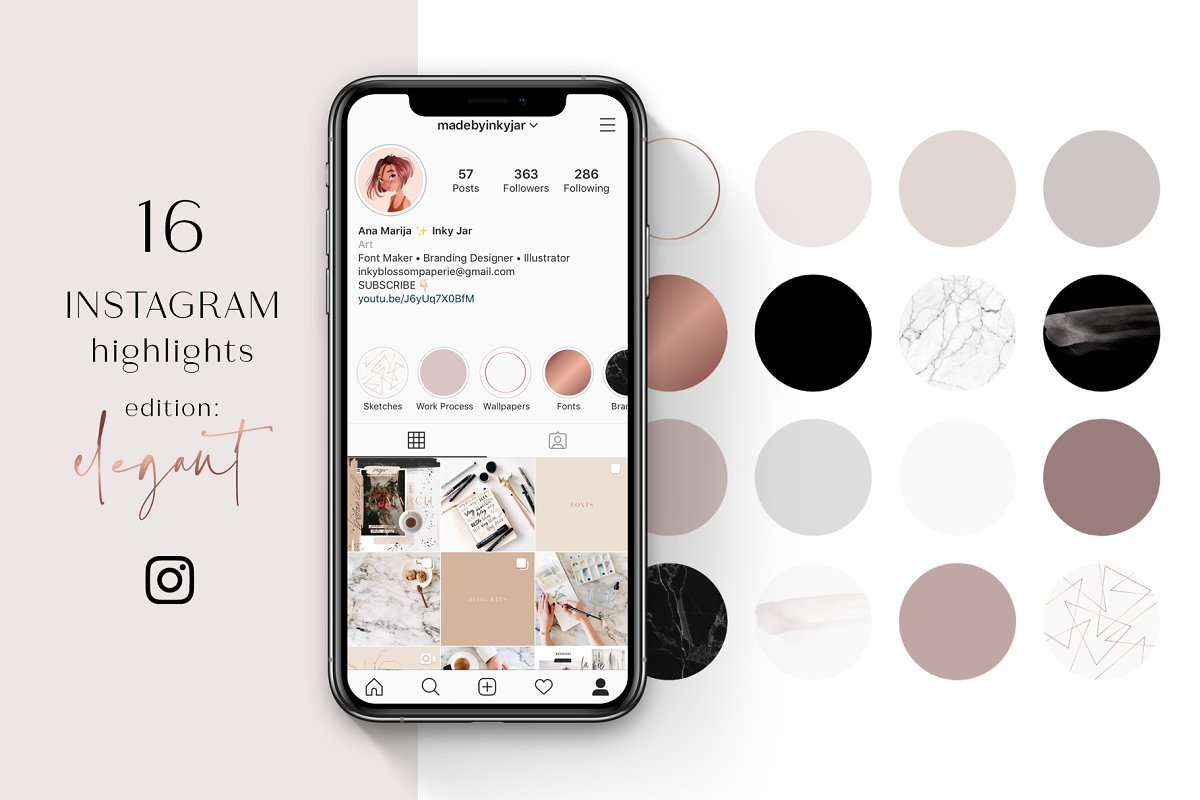 Instagram Highlight Covers-Elegant