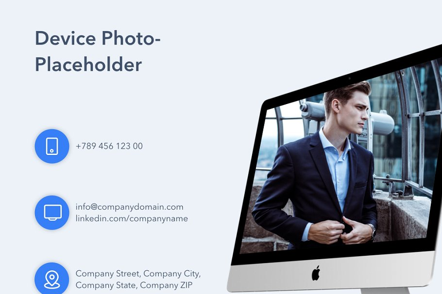 Business Model Keynote Template in Presentation Templates - product preview 15