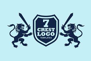Crest Logo Templates