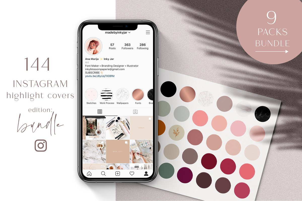 Instagram Highlight Covers-Bundle