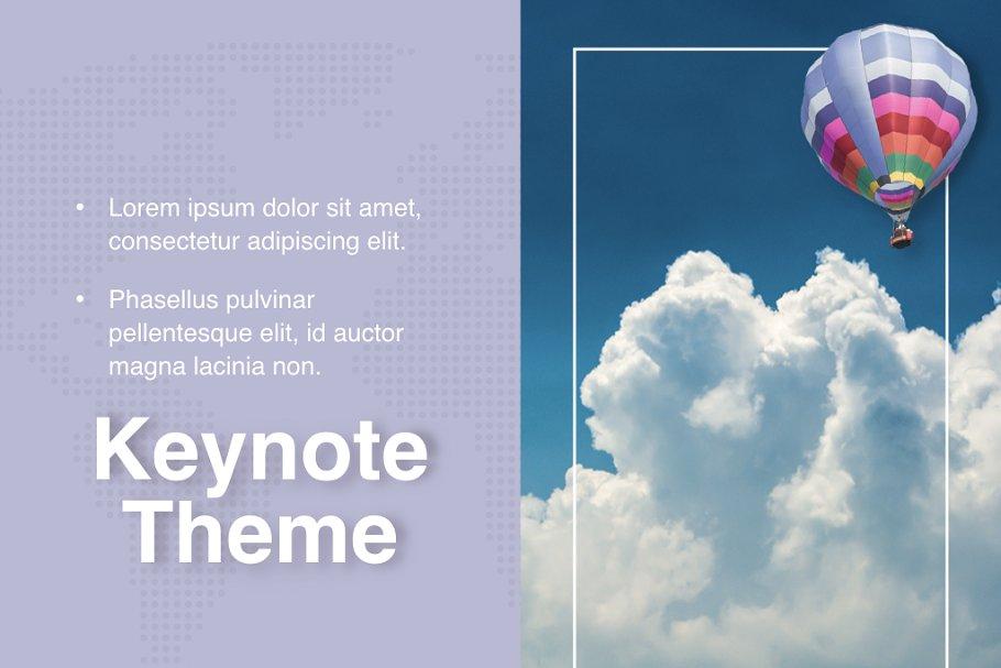 Hot Air Keynote Theme
