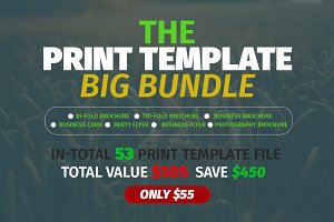 The  Print Template  Big Bundle