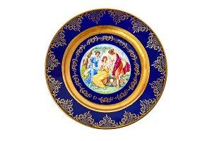Decorative plate.