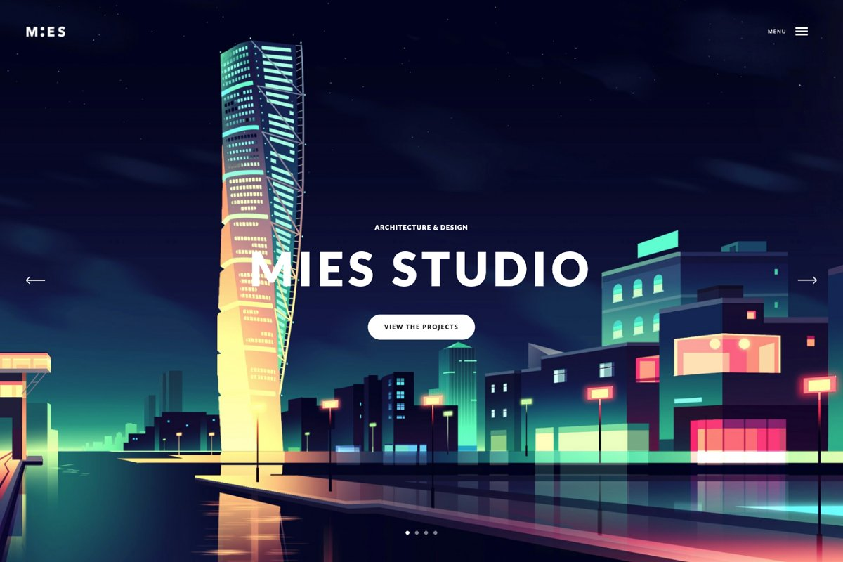 MIES - Architecture WordPress Theme