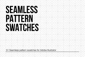 Hand Drawn Seamless Pattern Swatches