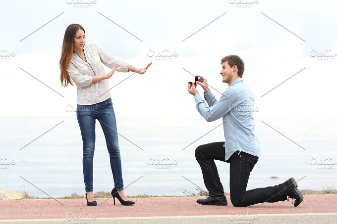 Proposal rejection when a man ask marry to a woman.jpg - People