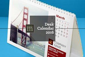 Desk Calendar 2016 (DC05)