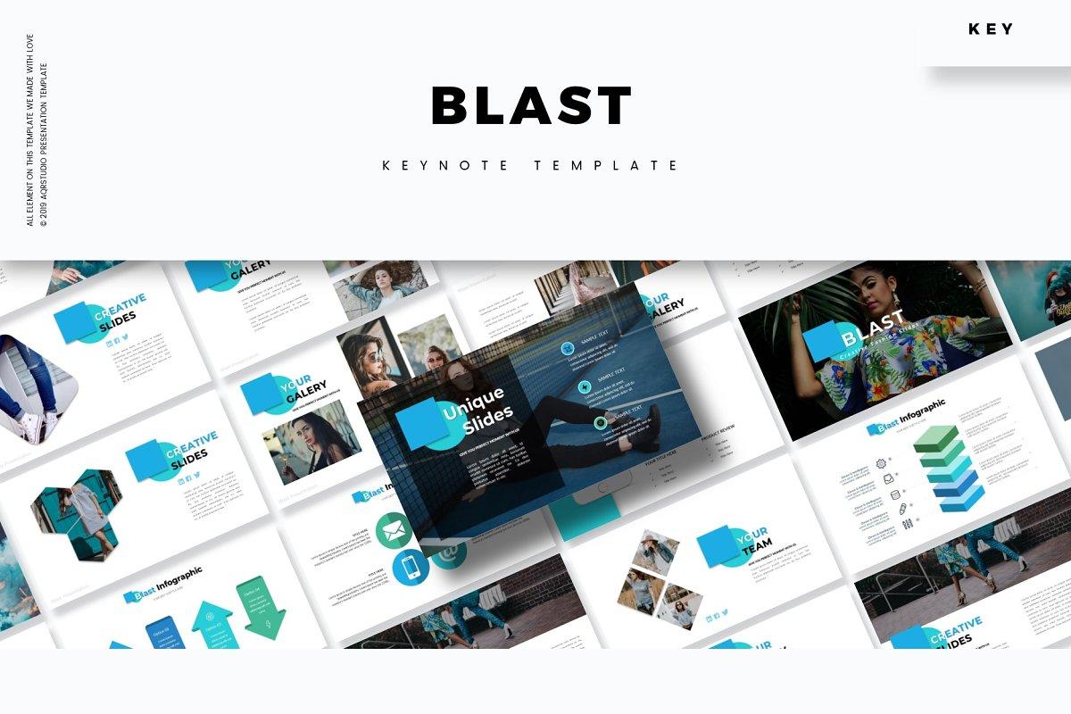 Blast - Keynote Template