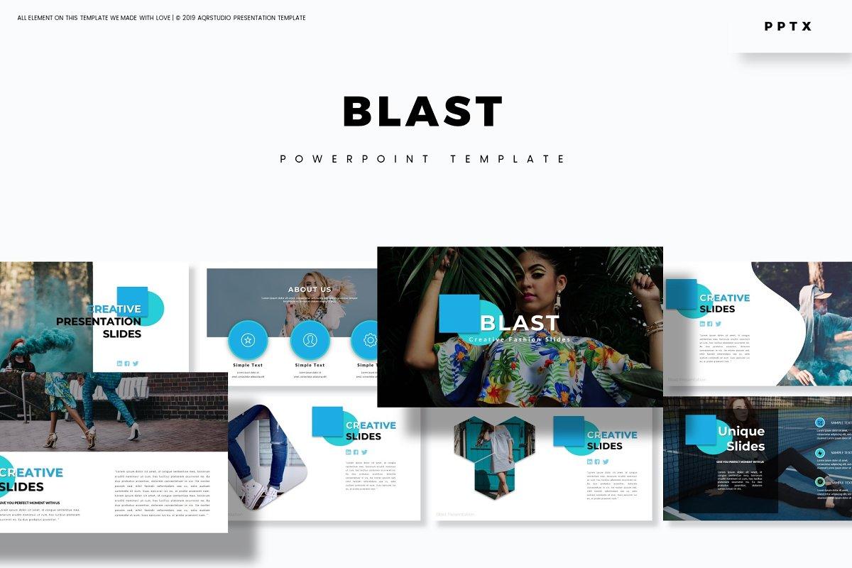Blast - Powerpoint Template