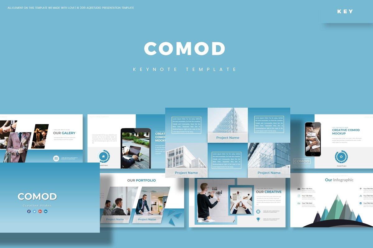 Comod - Keynote Template