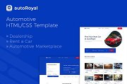 autoRoyal - Automotive HTML Template