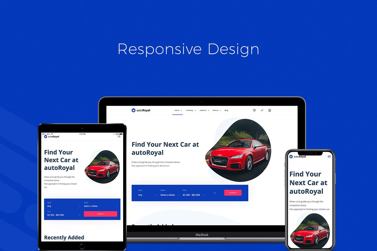 autoRoyal - Automotive HTML Template ~ Bootstrap Themes ~ Creative