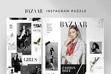 Bazaar - Instagram puzzle