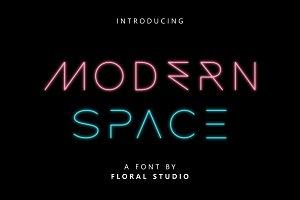 MODERN SPACE FONT