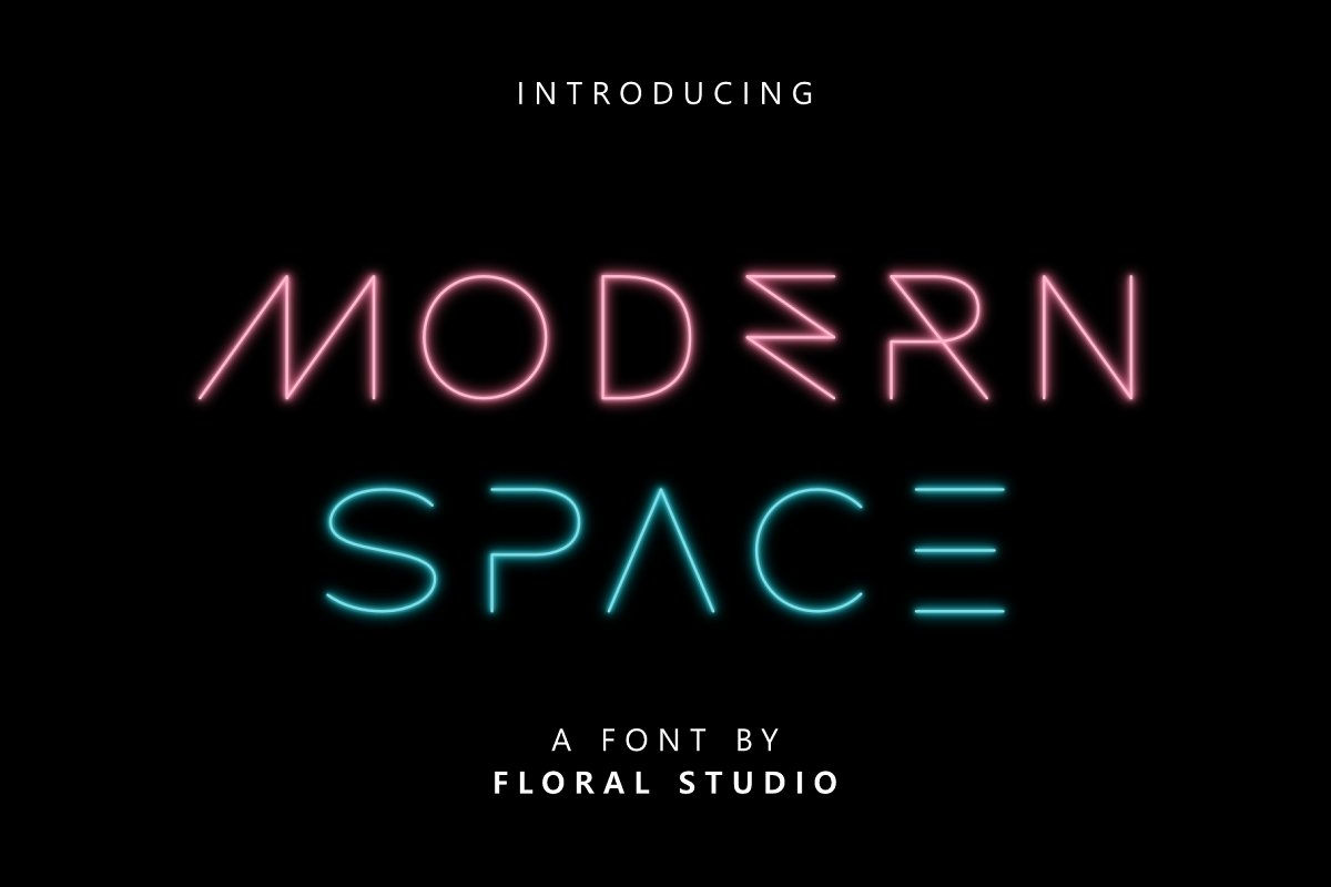 MODERN SPACE FONT