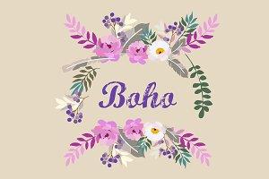 Boho ethnic style