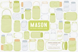 Bamboo Jar Vectors & Clipart