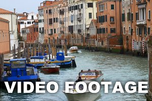 Water Transport of Venice, Italy