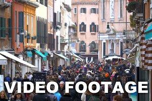 Daily Life of Venice, Italy