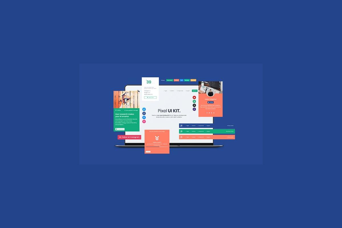 Pixel PRO - Premium Bootstrap 4 UI K