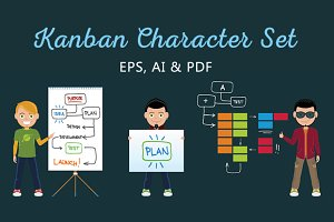 Kanban Character Set