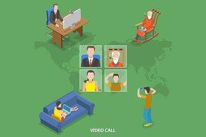 Video call concept