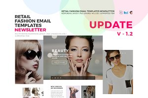 Responsive Fashion Email Templates