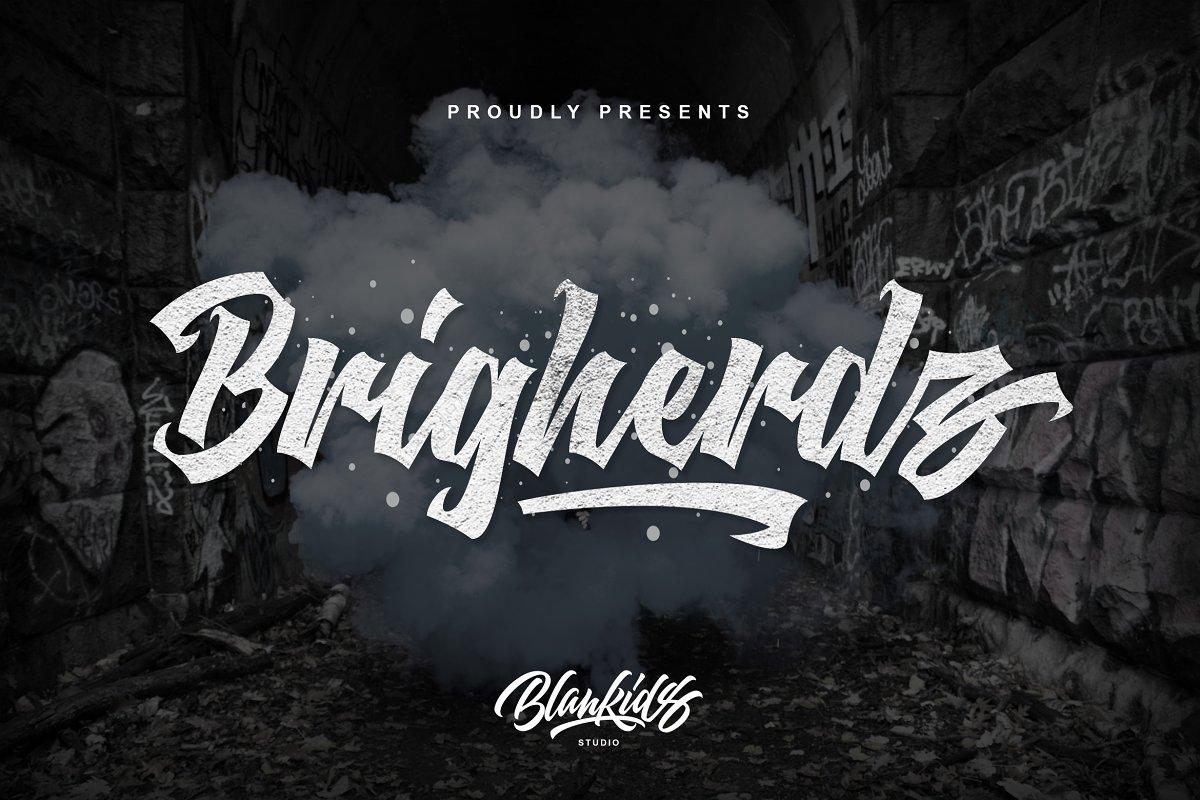 Brigherdz Typeface