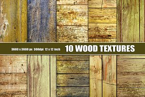 Old Distressed Wood Textures Grunge