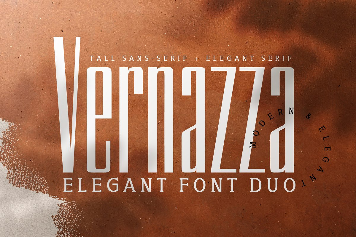 Vernazza Luxury Font Duo & Bonus