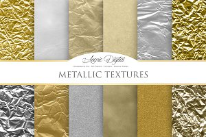 Metallic Background Textures