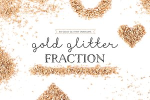 Gold Glitter Fraction Vol. 01
