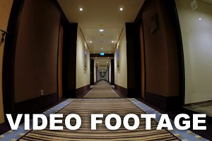 Corridor of Modern Hotel