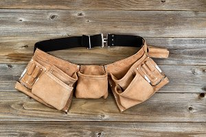 Traditional Leather Tool Belt